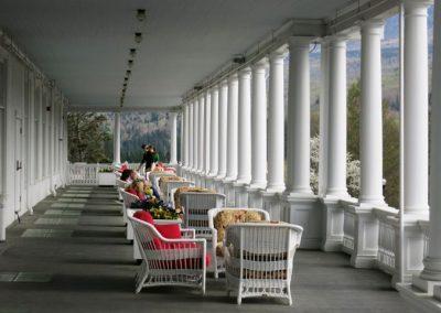 Mount Washington Hotel Porch