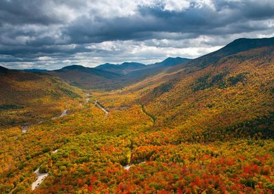 White Mountains New Hampshire - Fall Foliage